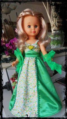 Resultado de imagen de vestido de fiesta de la muñeca nancy