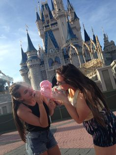 Best friends at Disney World
