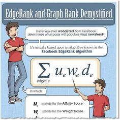 #Facebook EdgeRank Demystified - check out this awesome #infographic