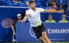 Download wallpapers Grigor Dimitrov, tennis, Bulgarian tennis player, ATP, tennis stars, talent