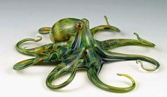 As esculturas de vidro de animais coloridos de Scott Bisson