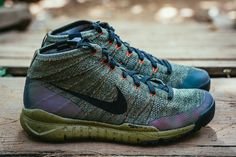 Stuck wearing clunky boots to stay warm and dry? Nike's new Sneakerboot collection has a Flyknit Chukka made for you!