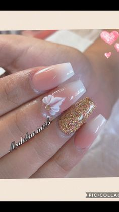 Claw Nails, Toe Nails, Pink Nails, 3d Nail Designs, Colorful Nail Designs, Gorgeous Nails, Pretty Nails, Finger Nail Art, Best Acrylic Nails