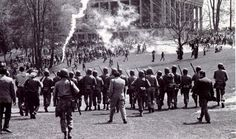 During an anti-war protest at Kent State University, the Ohio National Guard shot unarmed college students at Kent State University, killing four. Students were also killed at Jackson State (May and Orangeburg (February History Channel, Us History, American History, Jackson State University, Kent State University, Danny Collins, Student Protest, Robert Kennedy, Peaceful Protest