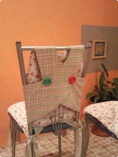 Чехлы для стульев на кухню своими руками