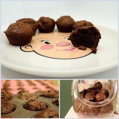 Flourless Fudgy Brownie Bites | Paleo Parents