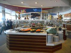 Allure of the Seas-Windjammer Buffet