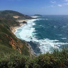 Did you see today's post about the most beautiful road trip in the world...the Big Sur Road Trip! I'm craving these high cliffs, giant crashing waves, and tight winding roads already! // Brittany from Boston