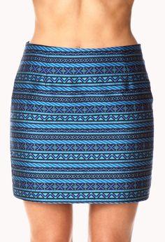 Globetrotter Mini Skirt | FOREVER21 - 2000075823