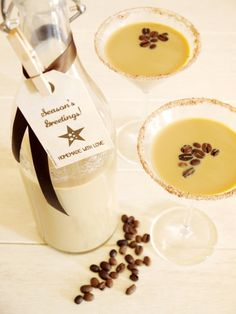 Homemade Irish Cream Bailey Christmas Gift