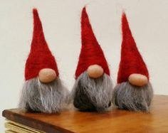 Weihnachtsschmuck norwegischen Weihnachten Gnomen von FeltbyLisa