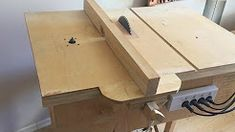 building 4 in1 workshop home made table - YouTube