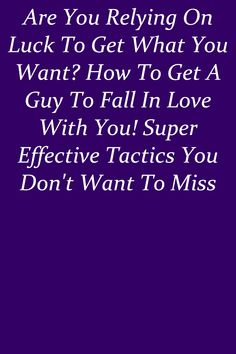 Don't overdo it by playing hard to get, but at the same time, don't make it too easy for him. #relationship Get What You Want, How To Get, Play Hard To Get, Relationship Rules, Falling In Love, Romantic, Easy, Romance Movies, Romantic Things