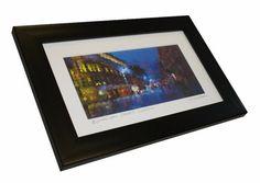 Glasgow Buchanan Street framed print small by PuddleDuckPrint, £20.00
