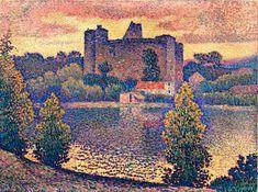 Le Chateau de Clisson by Jean Metzinger
