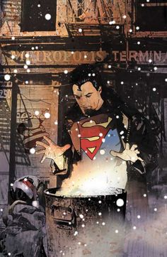 artverso:  John Van Fleet - Superman