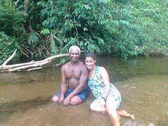 Bensinho (Helena) com namorado