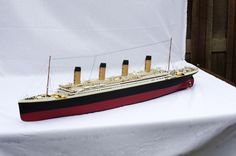 Scale model of the RMS Titanic