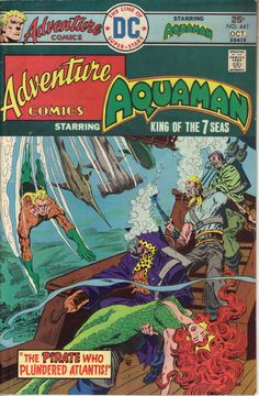 ADVENTURE COMICS # 441 DE 1975, dibujo de Jim Aparo. $ 150.00 Para más información, contáctanos en http://www.facebook.com/la5aDimension