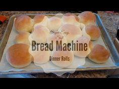 Super Easy, Soft Bread Machine Dinner Rolls! - YouTube