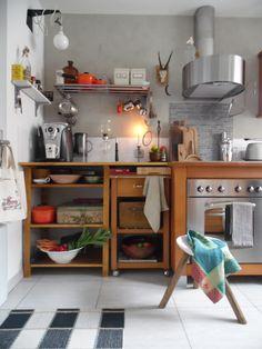 Designerküche ist das nicht...