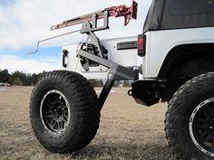 Interesting tire carrier