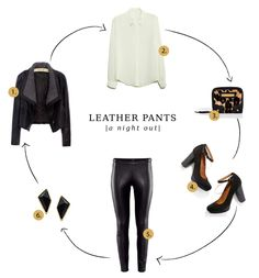 How to wear leather pants (night out)