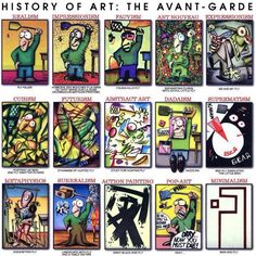 History of modern art. #cartoon #art #funny