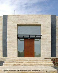 Arquitectura de Casas: Fachadas modernas.