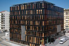 Dominique Perrault Architecture - Greater Perpignan's office building