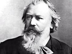 Johannes Brahms - beautiful melodies and romantic music. Always a bachelor, he fell in love with his best friend's (Robert Schuman) wife. It is said that his music expresses unrequited love.