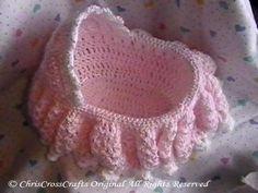 Free Crochet Doll Cradle Purse Pattern