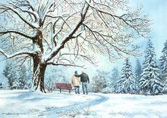 """Everybody Needs Somebody"" by William Mangum - 2010 Honor Card Painting"