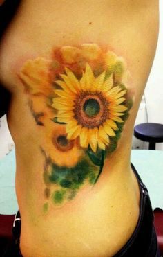 Julia, I know you said you wanted a B sunflower, but this is too pretty!