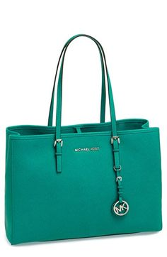MICHAEL Michael Kors 'Jet Set - Large' Saffiano Leather Tote available at #Nordstrom