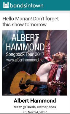 Albert Hammond, Don't Forget, Tours, Movie Posters, Movies, Films, Film Poster, Cinema, Movie