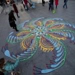 Not your everyday sand-art. Amazing how creative people can be.