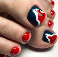 Cute Pedicure Designs, Toe Nail Designs, Cute Pedicures, Pedicure Nails, Toe Nail Art, Toe Nails, Cute Toes, Fancy Nails, Nail Arts