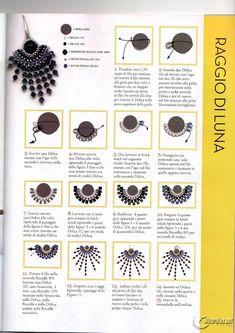 free seed bead patterns and instructions Beaded Bracelets Tutorial, Beaded Tassel Earrings, Earring Tutorial, Bead Jewellery, Seed Bead Jewelry, Seed Bead Earrings, Seed Bead Patterns, Beaded Jewelry Patterns, Beading Patterns