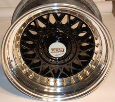 BLACK BBS RM 007 9x15 SPLIT RIMS BMW POLISHED !!! super bad too bad fit is for bmw