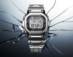 Casio releases its original 5000 Series G-Shock in metal. The original G-Shock gets remastered in stainless steel.