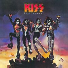 KISS 'Destroyer', 1976.