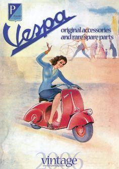 Piaggio Vespa: Catálogo Vespa Vintage