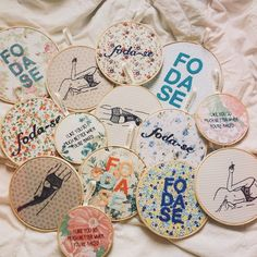 Got embroidery?  Embroideries by Clube do Bordado #clubedobordado #embroidery #bordado