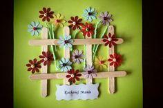 Strefa Dzieci - Ogród kwiatowy dla mamy, czyli prace plastyczne przedszkolaków