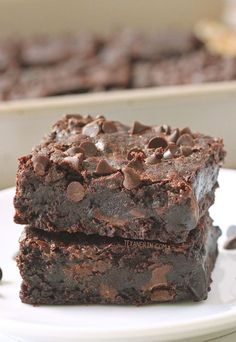 The Best Gluten-free Brownies (dairy-free, 100% whole grain, naturally sweetened) Can also be made with whole wheat flour!
