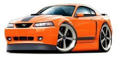 2003-2004 Ford Mustang Mach-1  vinyl decal wall graphic officially licensed product, custom art easy installation on walls, and windows