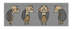 Pet Hate character turnaround by steveduignan Character Model Sheet, Game Character Design, Character Design Animation, Fantasy Character Design, Character Modeling, Character Design References, 3d Character, Character Drawing, Character Design Inspiration