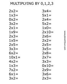 13 Begginer Worksheets Multiplication Begginer Worksheets Multiplication The youngsters can enjoy Number Worksheets, Math Worksheets, Alphabet Worksheets. Printable Multiplication Worksheets, 4th Grade Math Worksheets, Free Math Worksheets, 3rd Grade Math, Number Worksheets, Alphabet Worksheets, Multiplication Strategies, Third Grade, English Worksheets For Kids