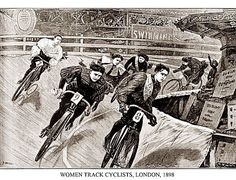 Women Track Cyclists